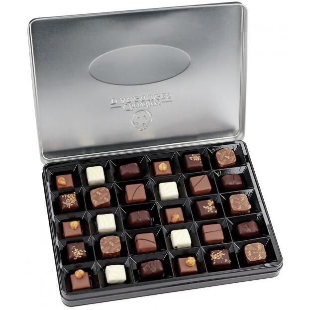Chocolat artisanal Coffret prestige métal