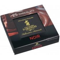 Assortiment chocolats Noir 250 gr