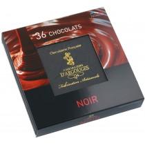 Assortiment chocolats Noir 360 gr