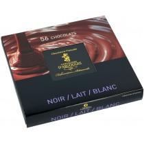 Assortiment chocolats Lait, Blanc et Noir 560 gr
