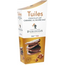 Milk Chocolate Tuiles Flavour Salted Butter Caramel