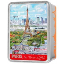 """Paris Tour Eiffel"" box Giandujas"