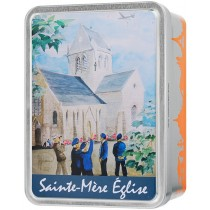 """Sainte Mère Eglise"" box Giandujas"