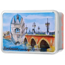 """Bordeaux Pont Pierre"" box Giandujas"