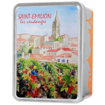 Saint Emilion Vendanges Coffret Giandujas 100g