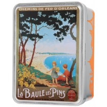 """La Baule Les Pins"" box Giandujas"