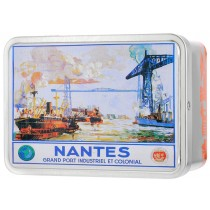 """Nantes Grand Port"" box Giandujas"
