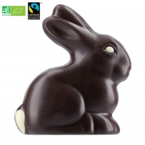 ORGANIC Dark Chocolate Rabbit