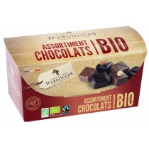 Box of Organic and fairtrade Chocolate Sweets