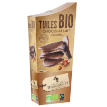 Milk caramel tuiles organic and Max Havelaar