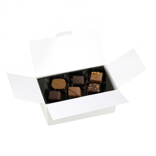 Ballotin cadeau assortiment de chocolats