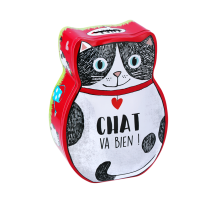 Tirelire Chat