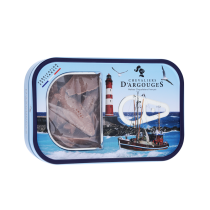 Tin box With Sardines in Milk chocolates