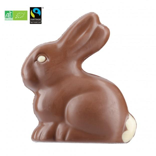 Lapin Chocolat Lait Bio Max Havelaar 70g