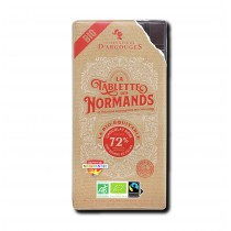 Dark chocolate tablet 72% cocoa - Organic & Fairtrade