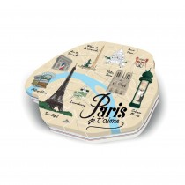 """Paris"" box Giandujas"