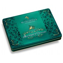 Prestige tin box of assortment of chocolates 300g
