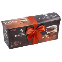 Assortment of chocolate tuiles