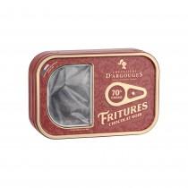 Tin box with Sardines in Dark chocolate 100g