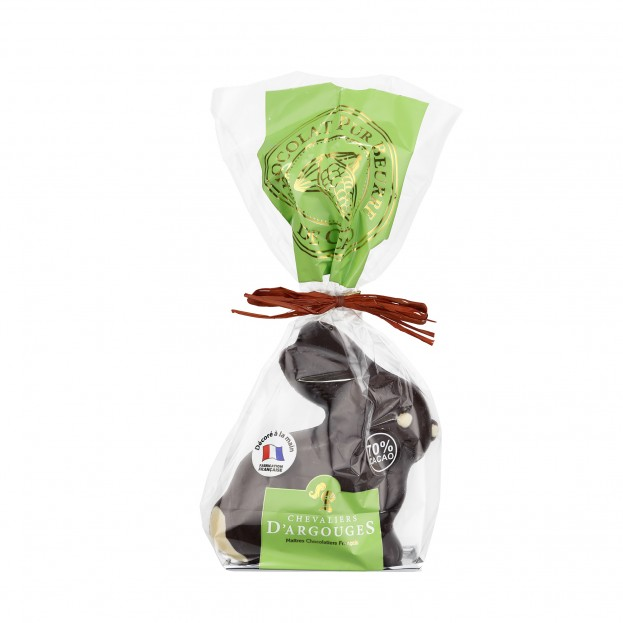 Lapin Chocolat Noir 70% 120g