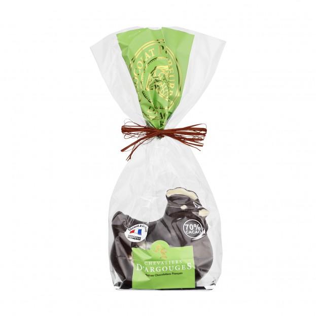 Poule Chocolat Noir 120g