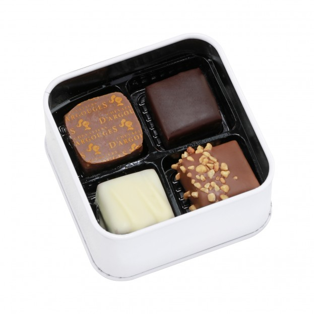 Assortiment 4 chocolats